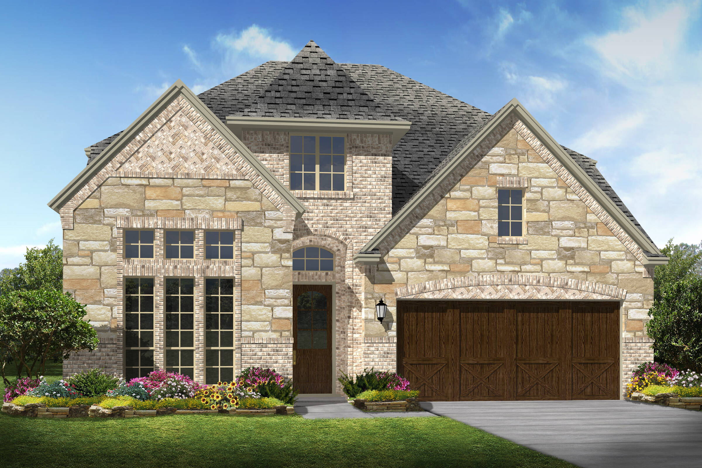 Stonebriar III C new homes Irving Texas