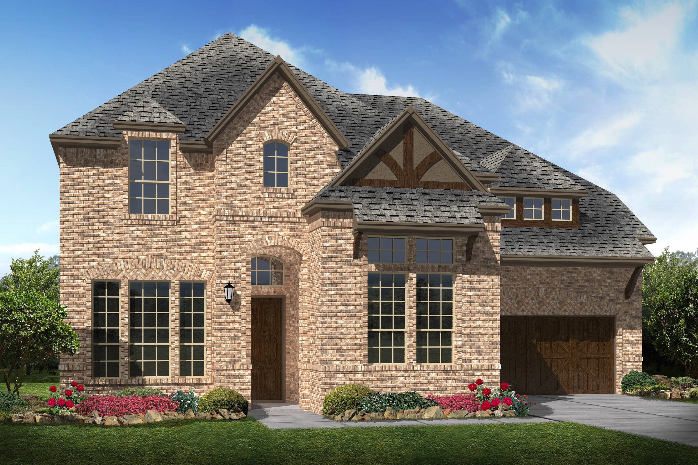 Stonebridge V A elev new homes near Dallas TX