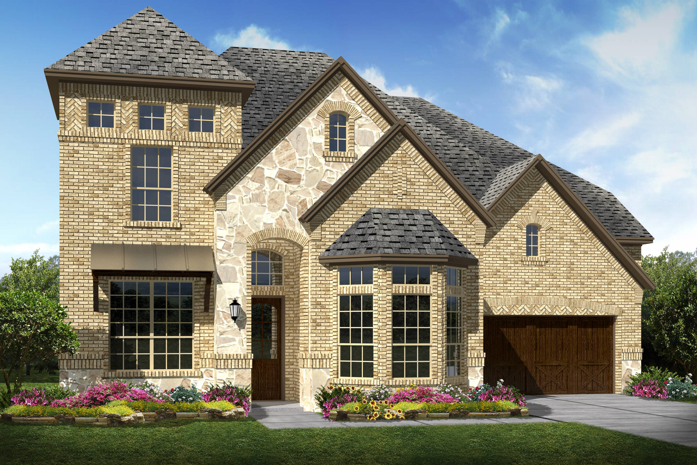 Stonebridge V C new homes frisco tx