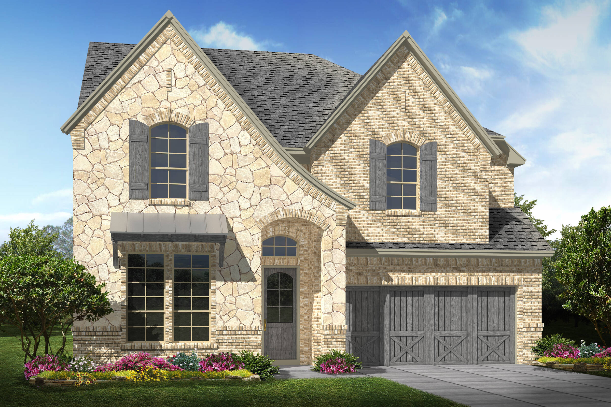 Summerwood V C Stone new homes dallas texas