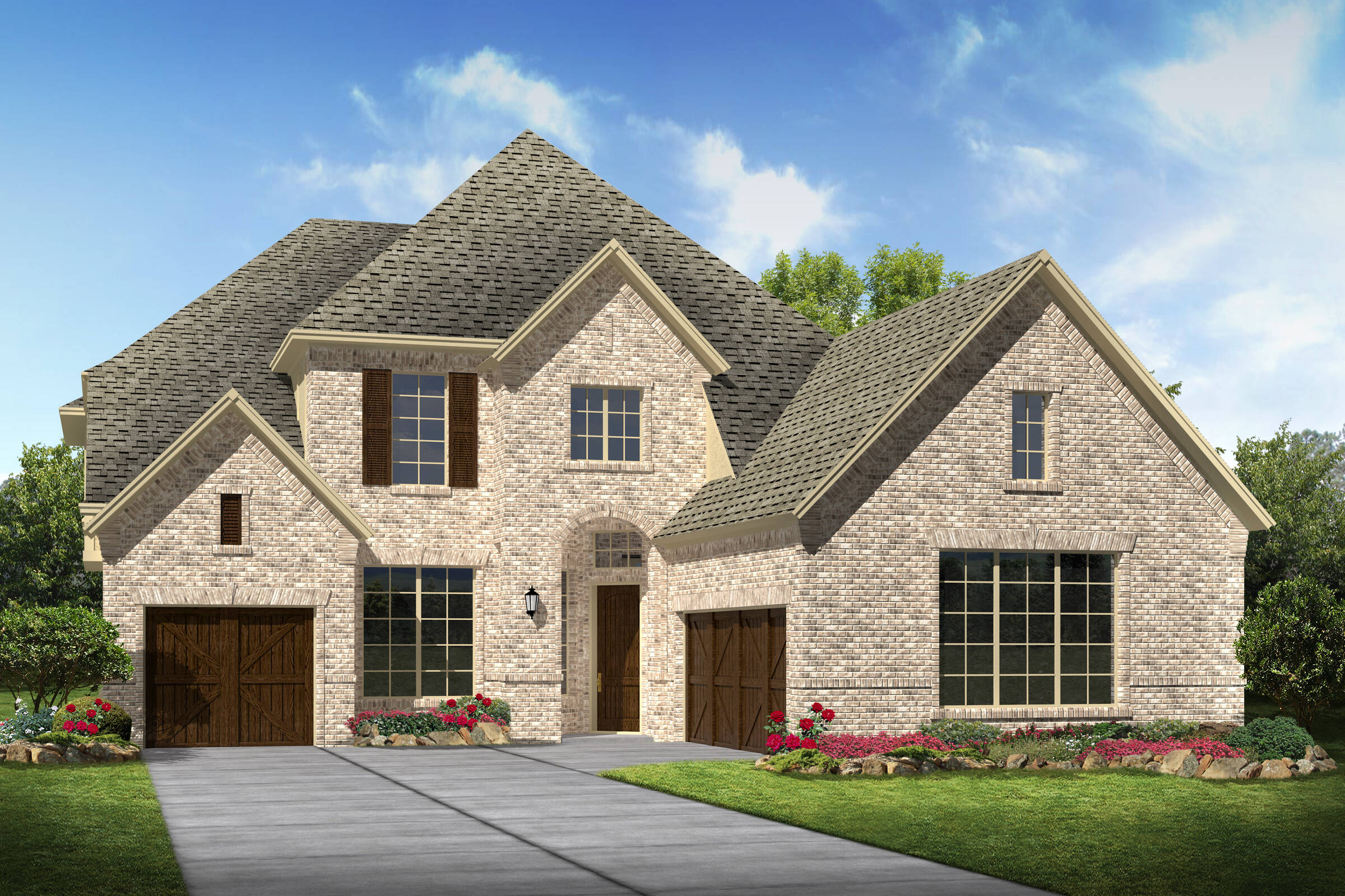 Tennyson III J new homes frisco tx