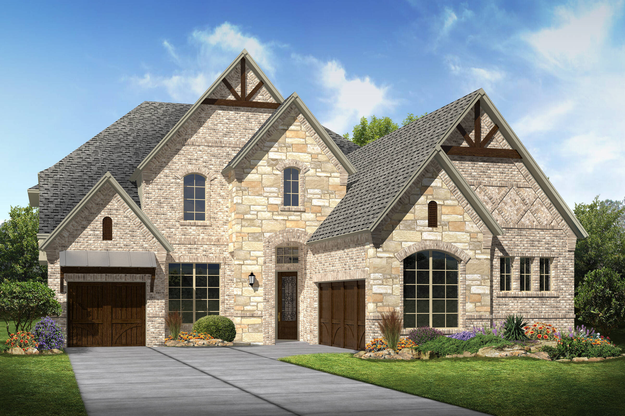 Tennyson II K new homes frisco tx