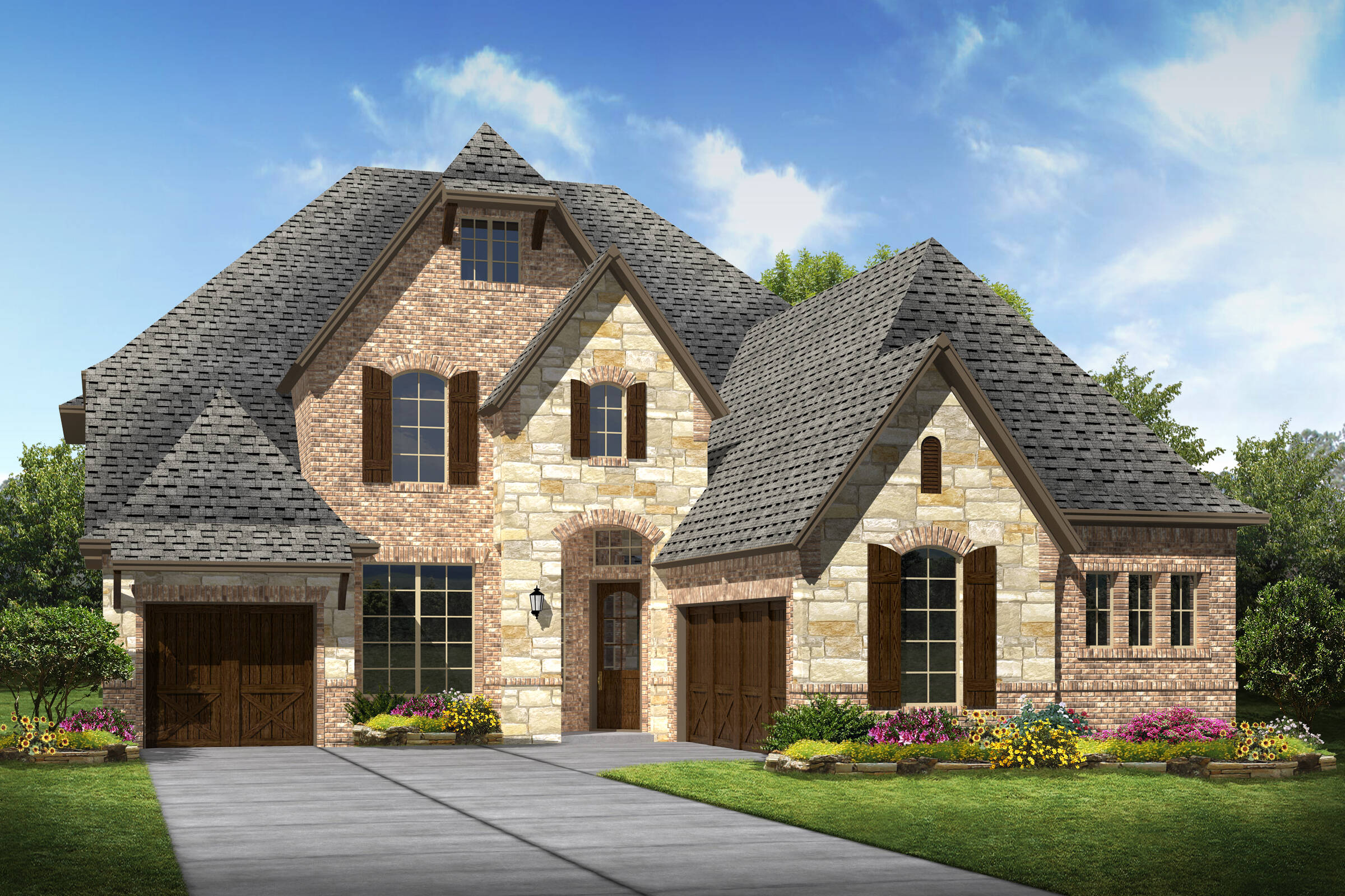 Tennyson III L new homes frisco tx