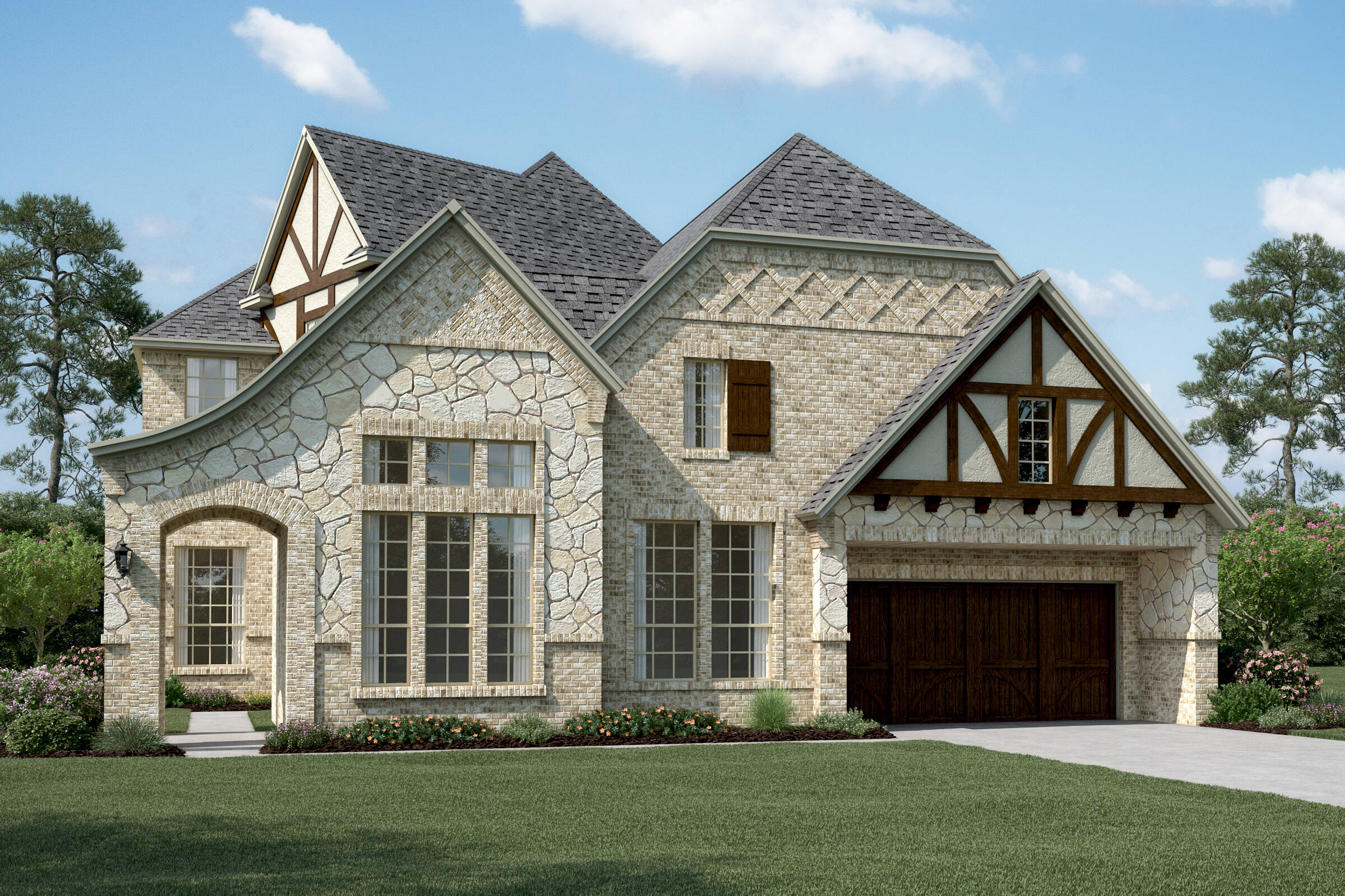 Westlake VI B Stone new homes frisco tx