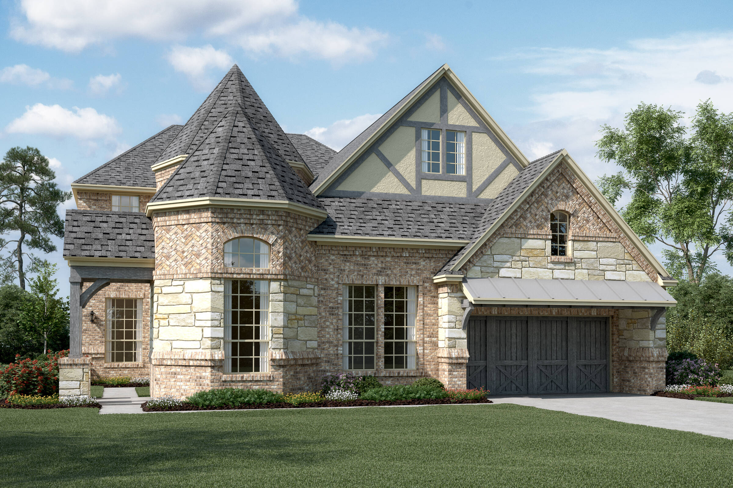 Westlake VI C Stone new homes frisco tx