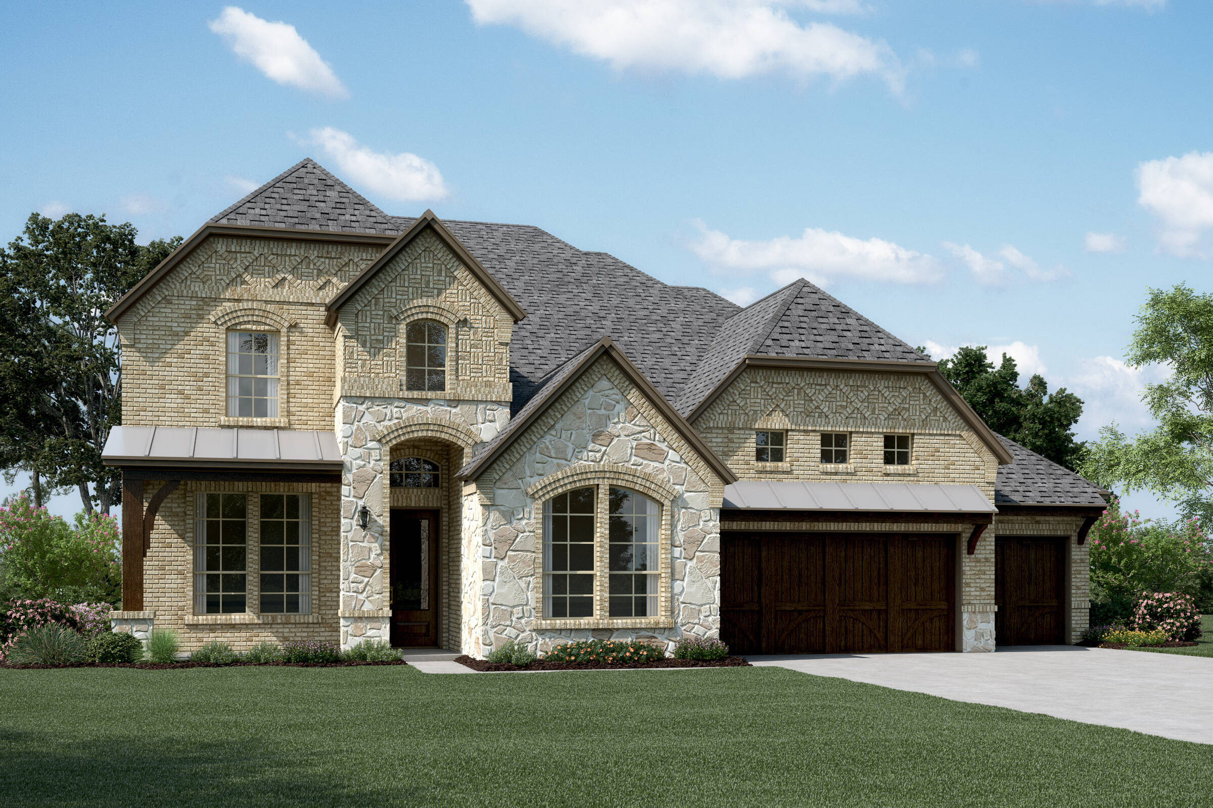 Westover XIII B Stone New Homes Dallas Texas