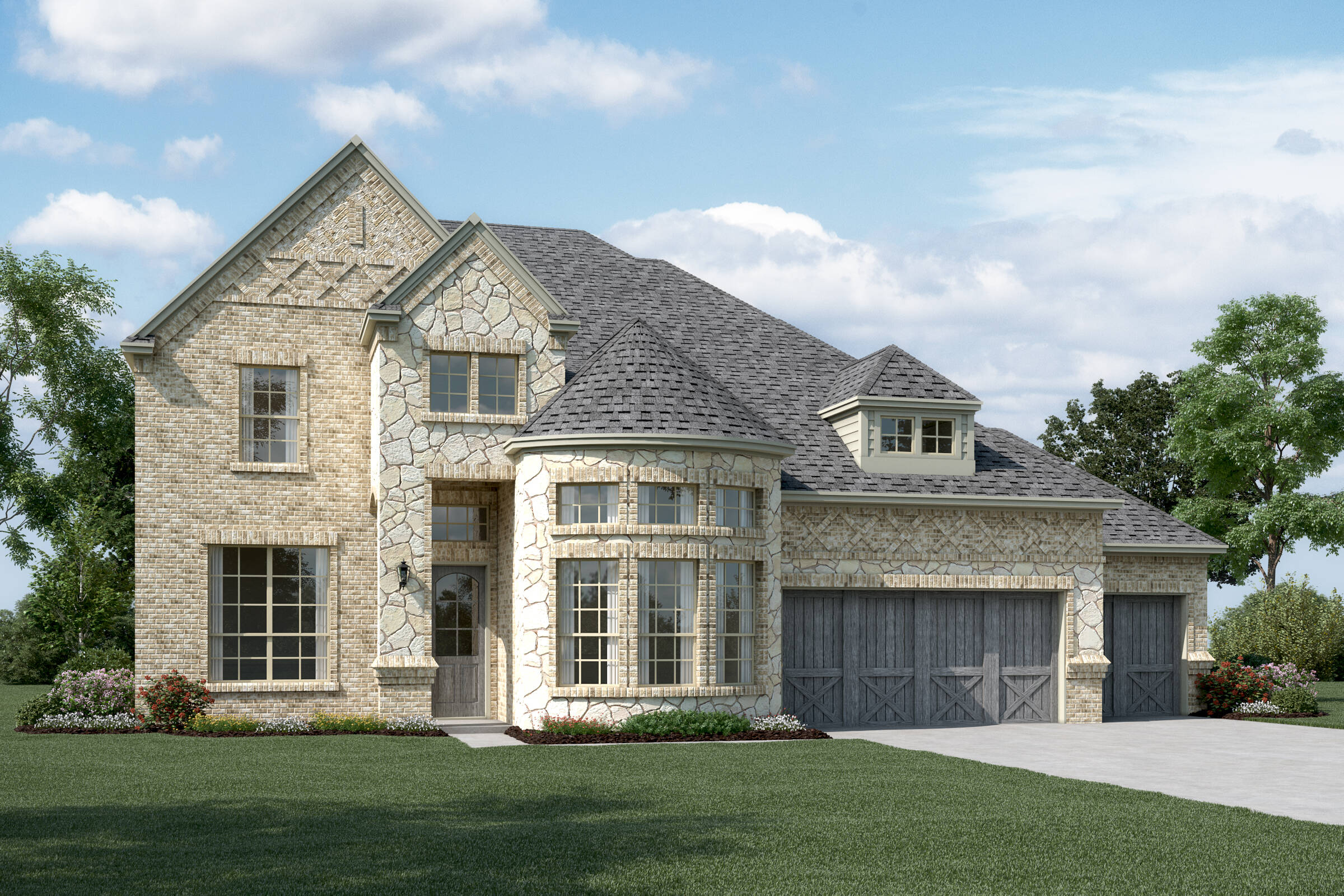 Westover XIII C Stone New Homes Dallas Texas
