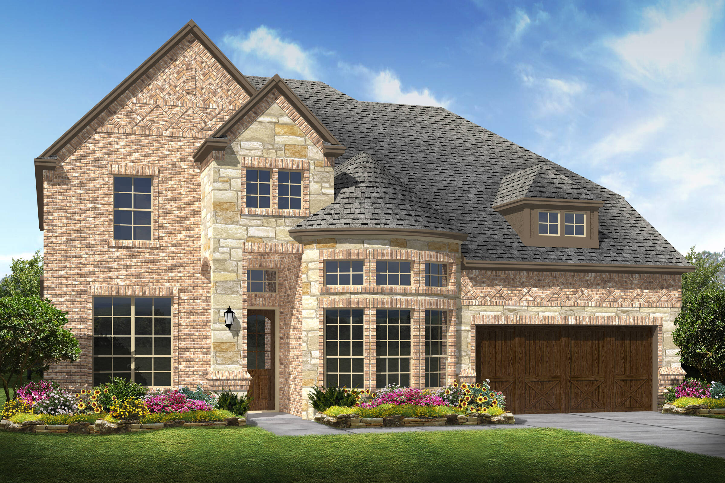 Westover IX C new homes frisco tx
