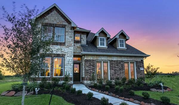 Sunset ridge west 45 39 homesites new homes in humble tx for New source homes