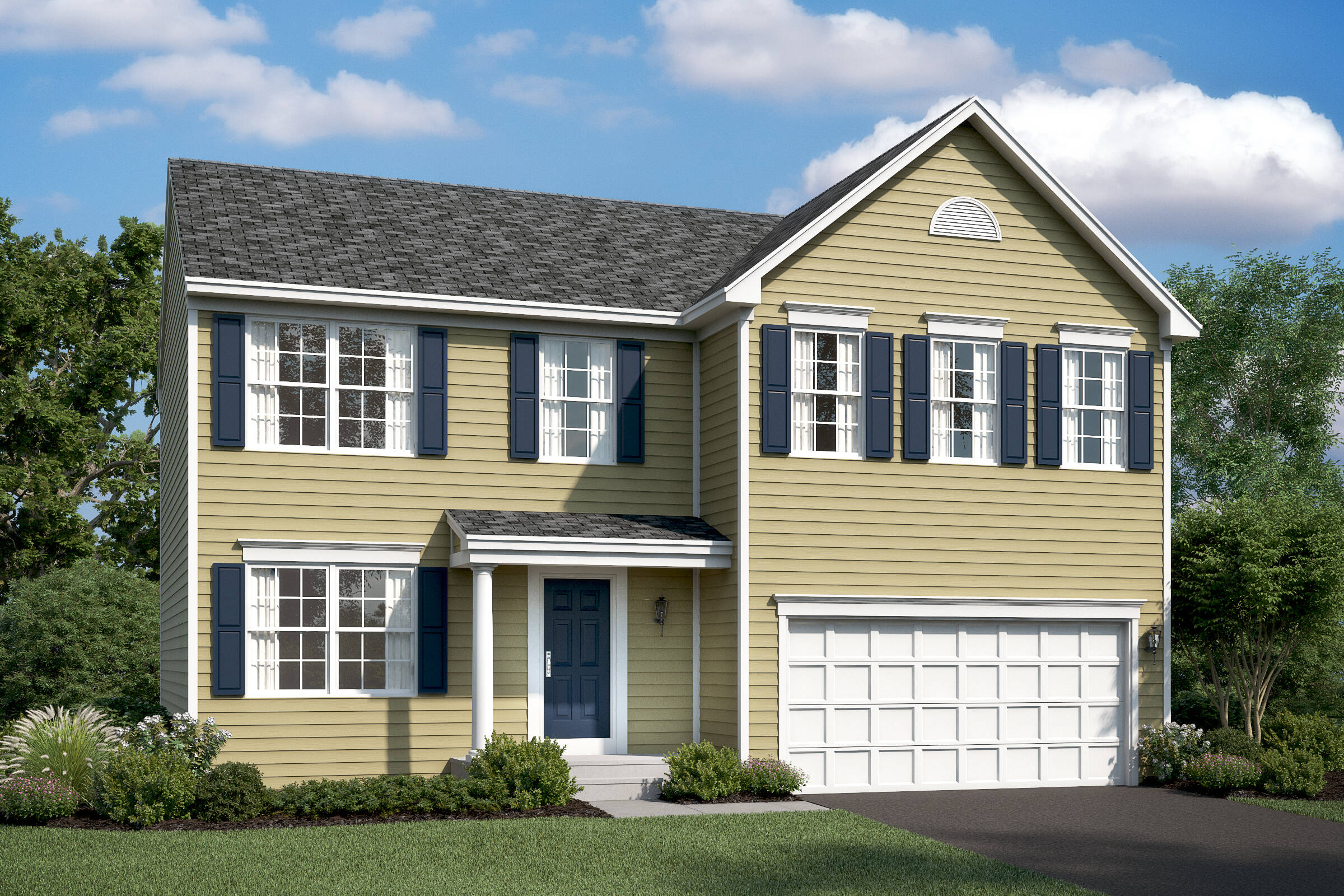 statesman colonial new homes at wellspring in virginia