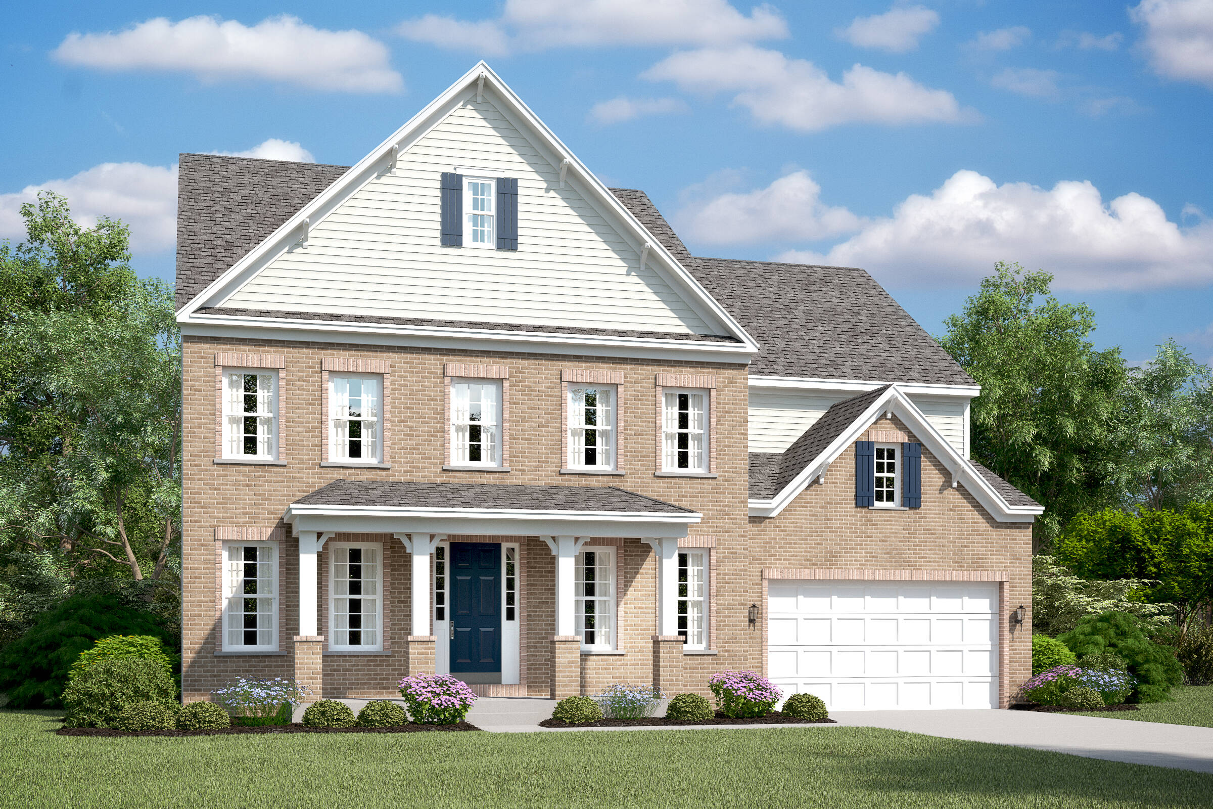berwyn e new homes at burke junction in virginia
