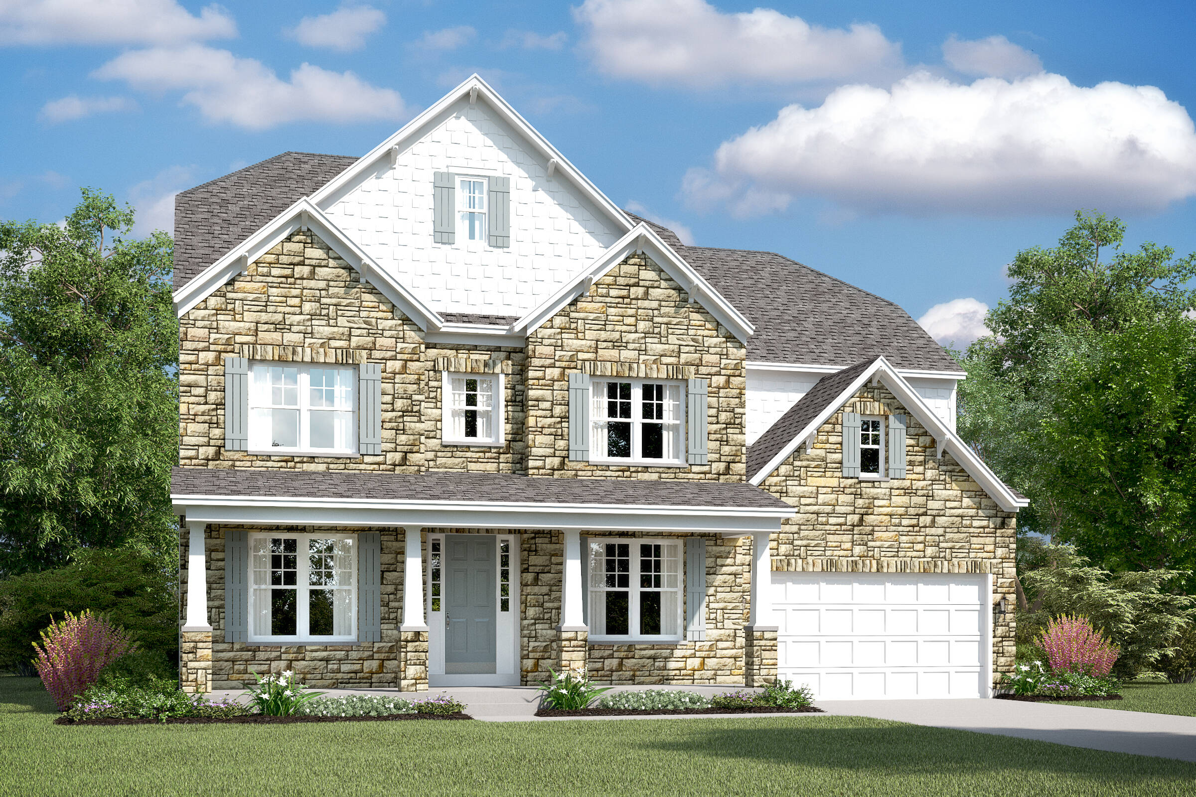 berwyn f new homes at burke junction in virginia
