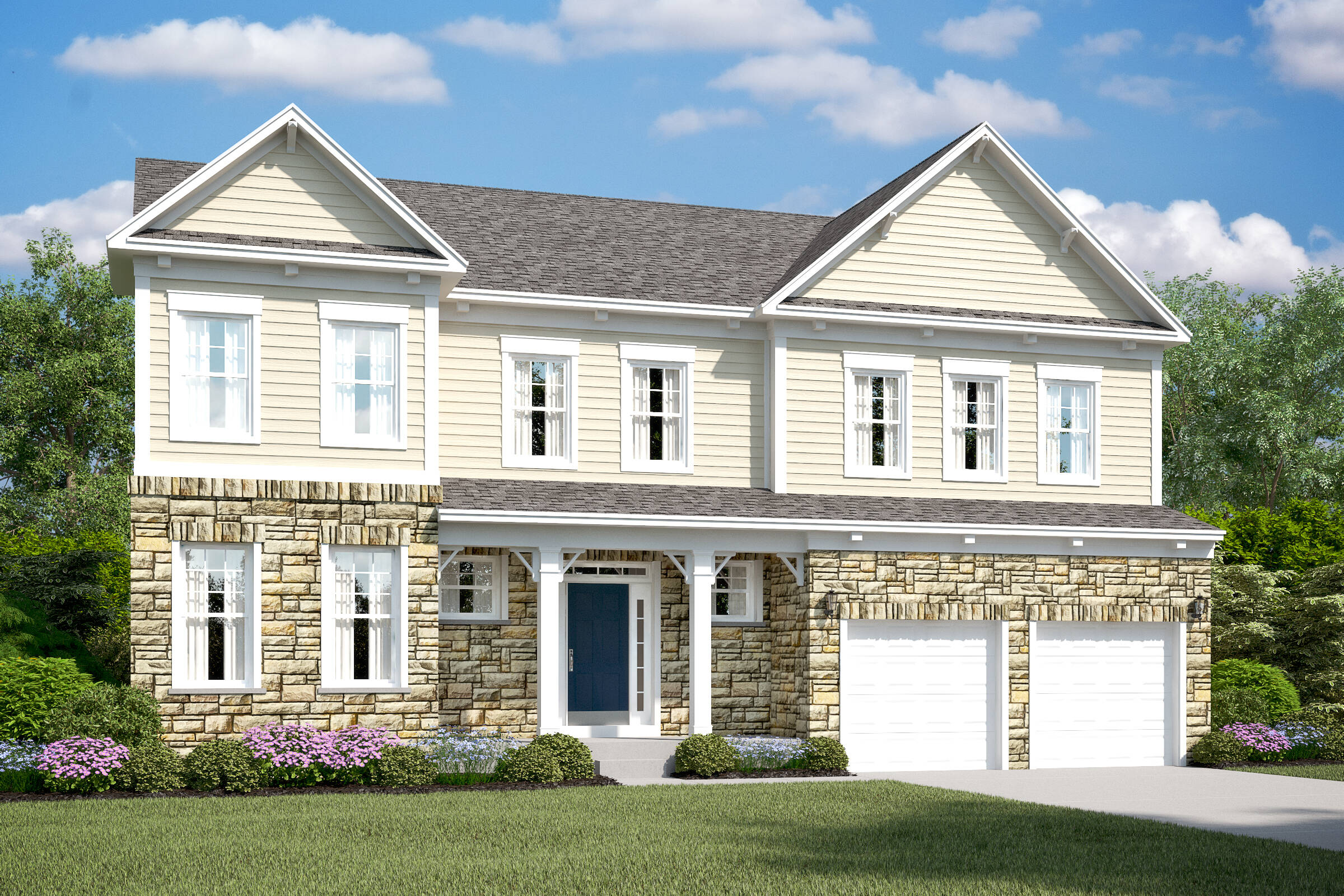 louisville et new homes at burke junction in virginia