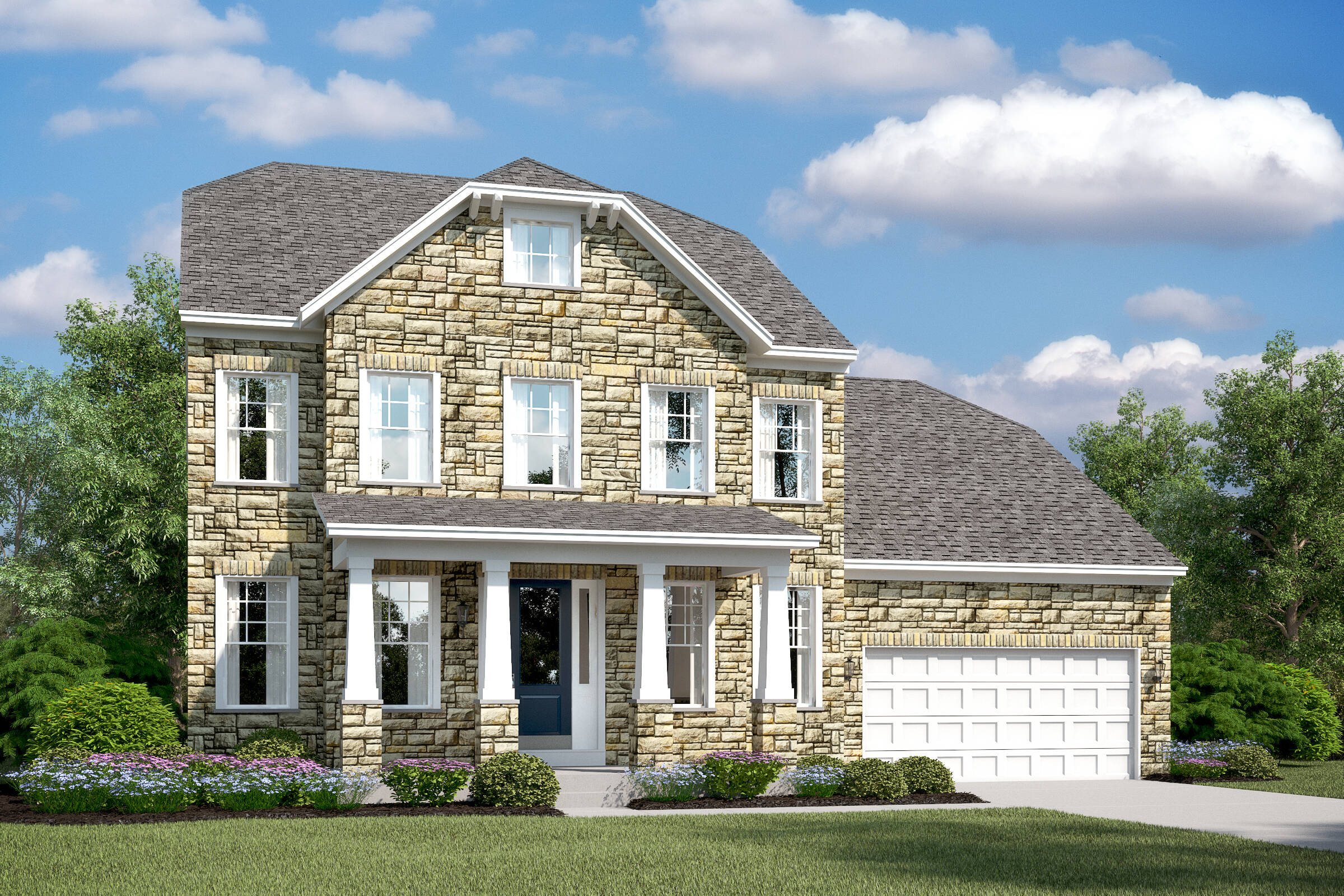 oxnard I d new homes at burke junction in virginia