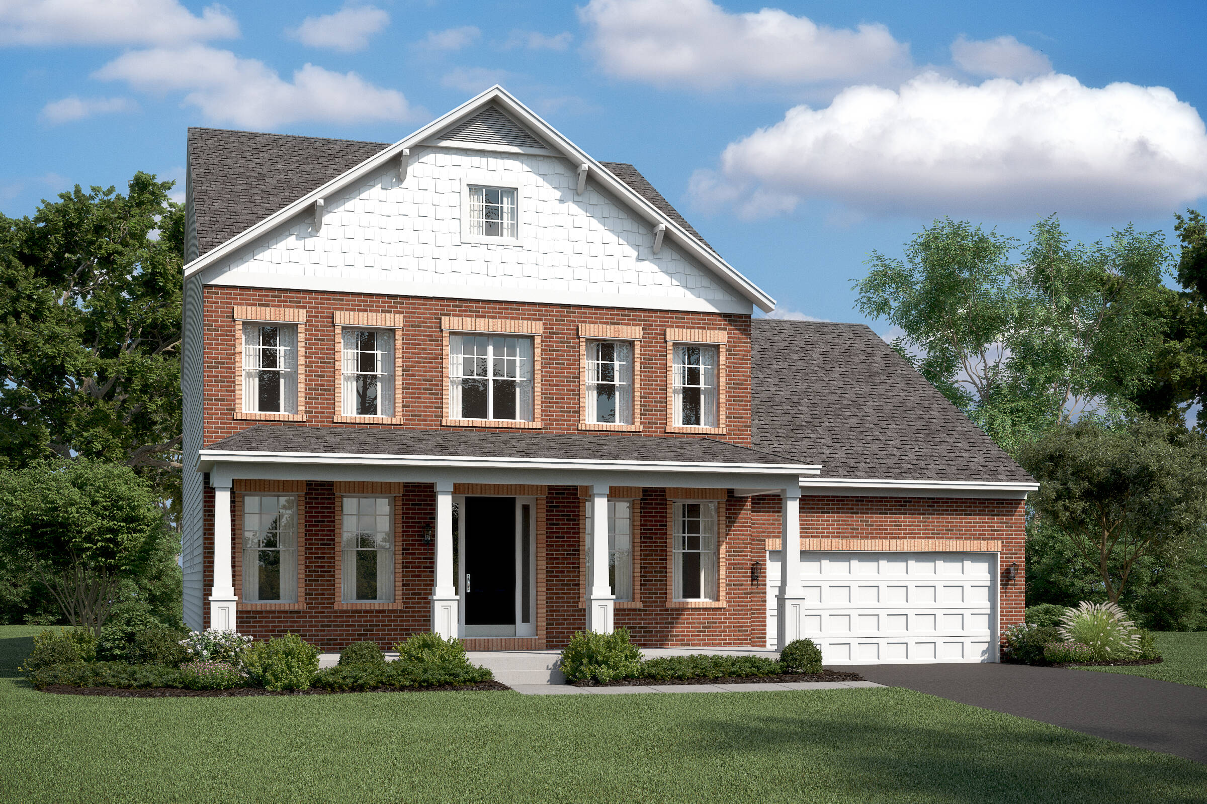 oxnard II db new homes at burke junction in virginia