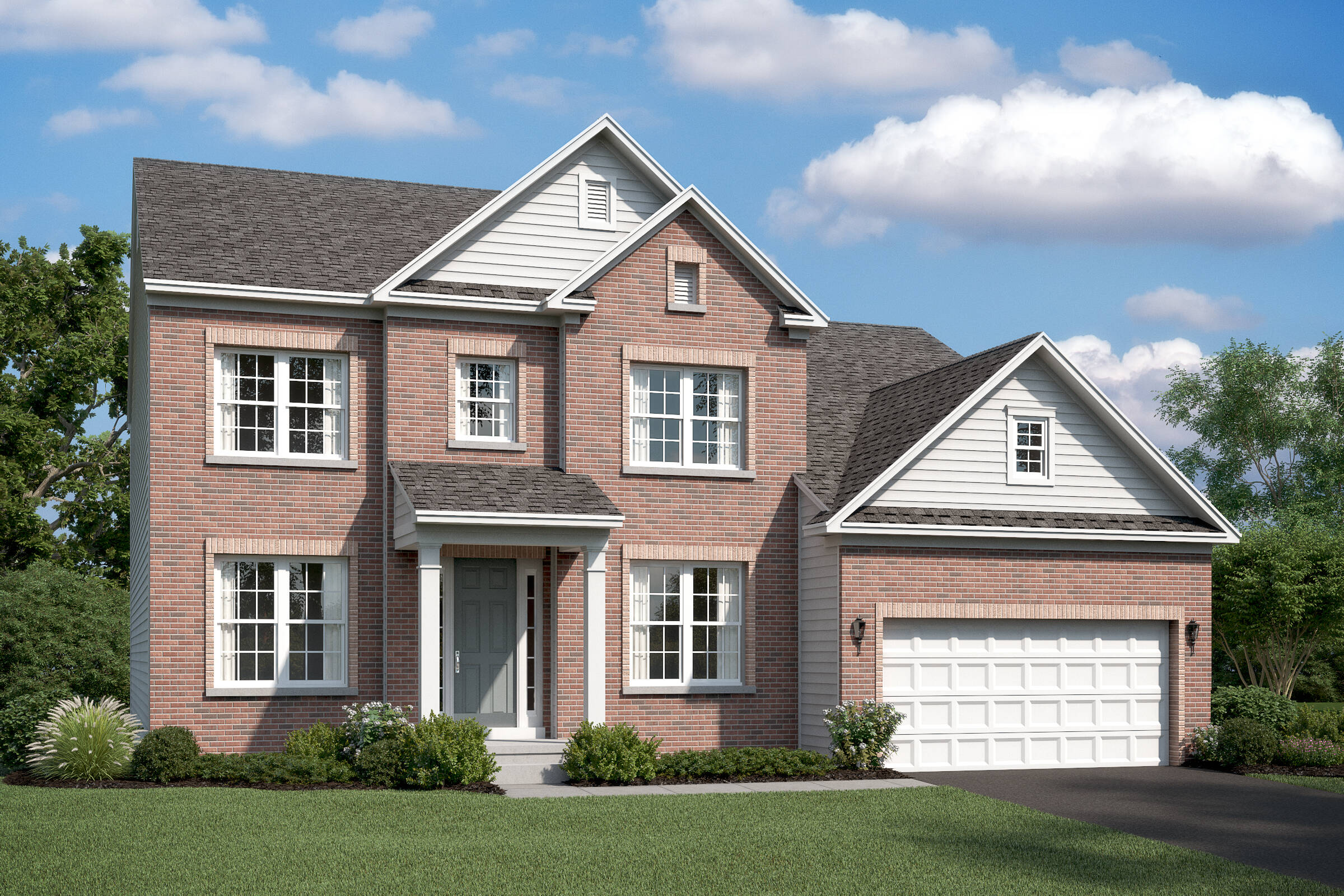 portland b new homes at burke junction in virginia