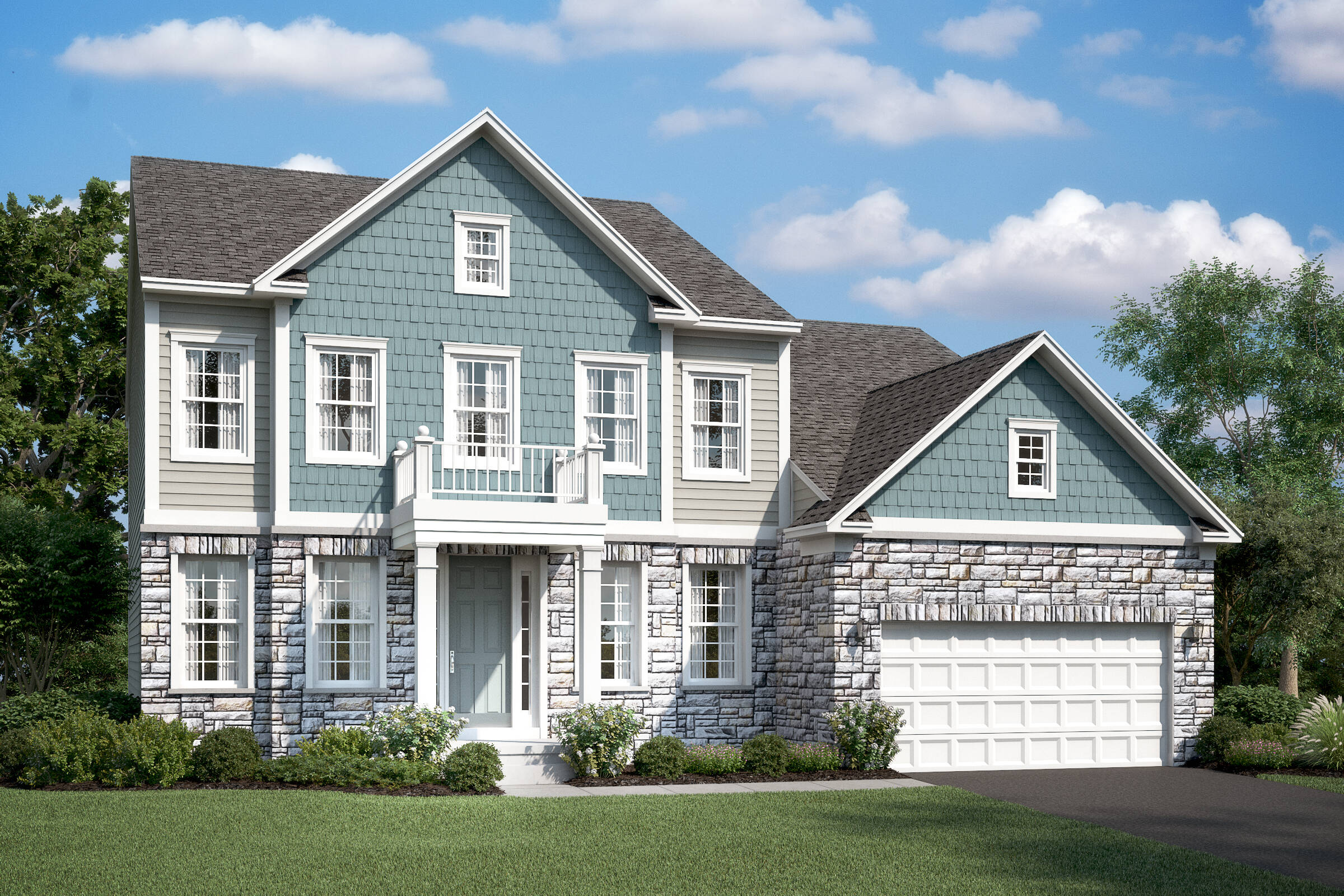 portland g new homes at burke junction in virginia