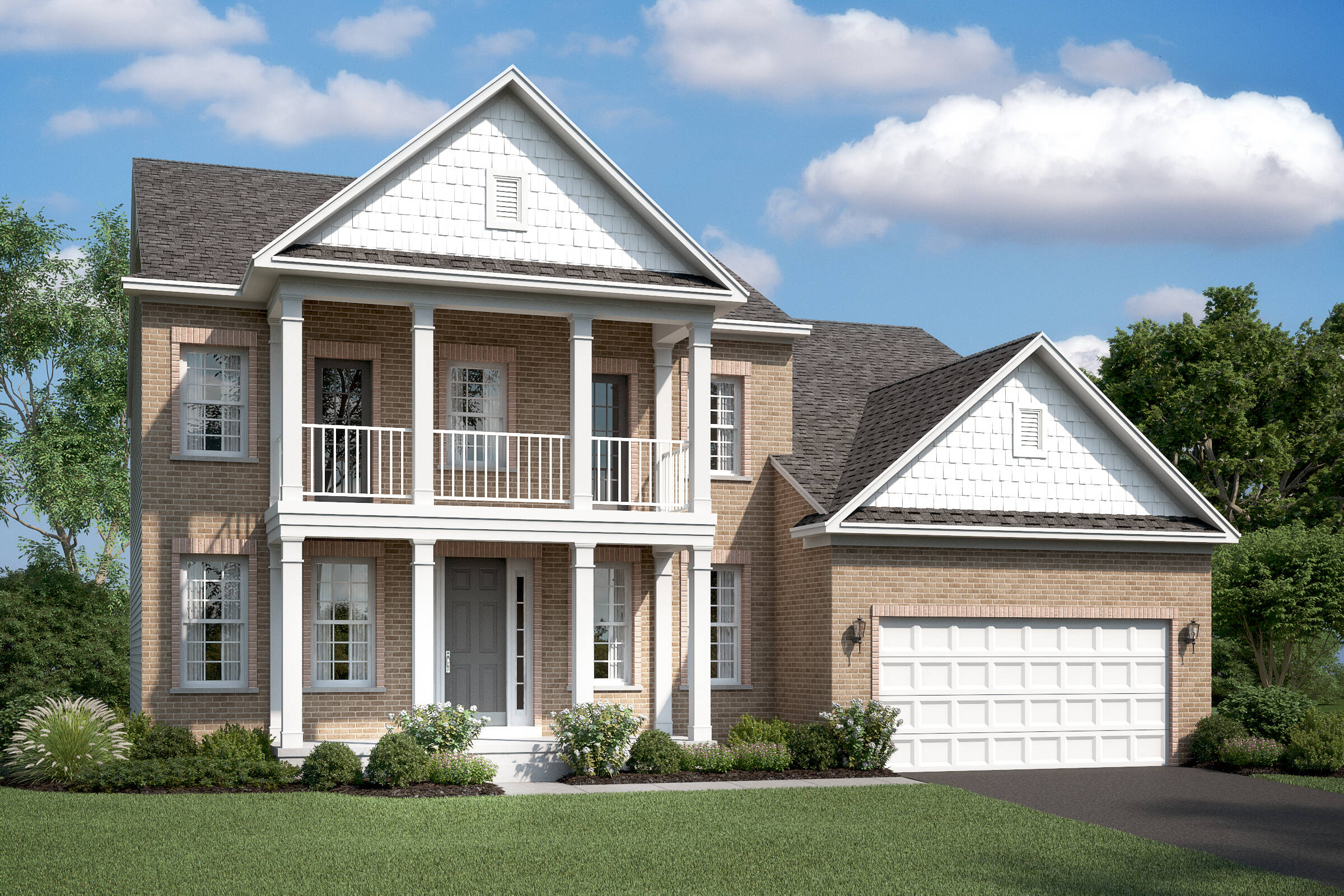 portland h new homes at burke junction in virginia