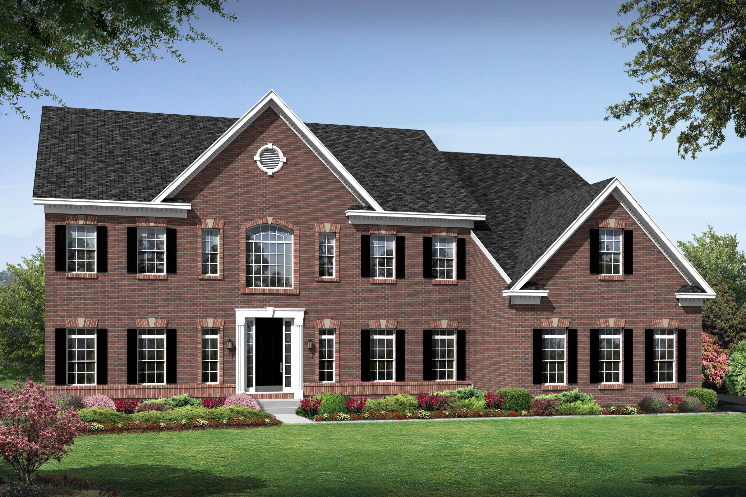 arlington a traditional new homes at foxmont