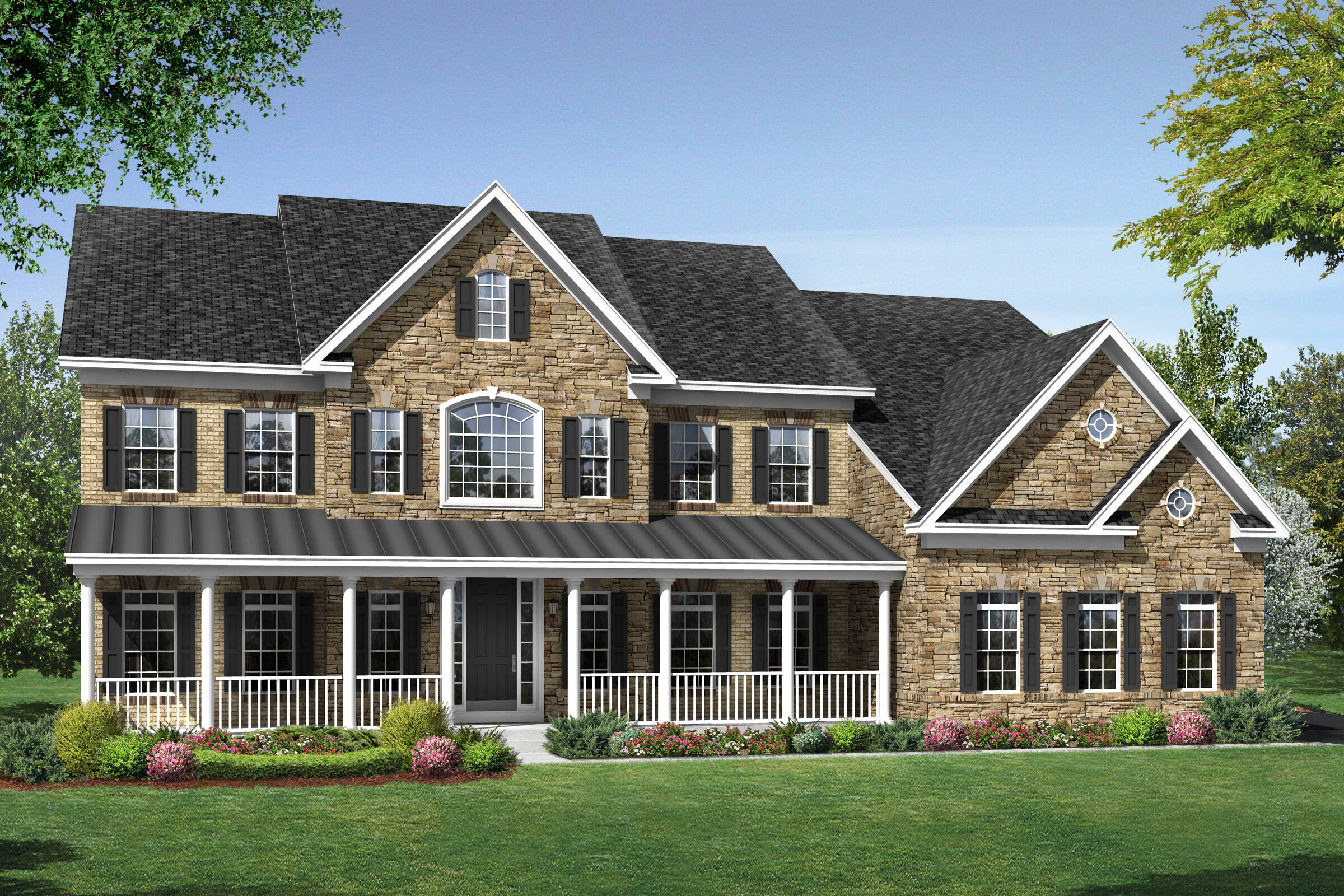 arlington b country new homes at foxmont