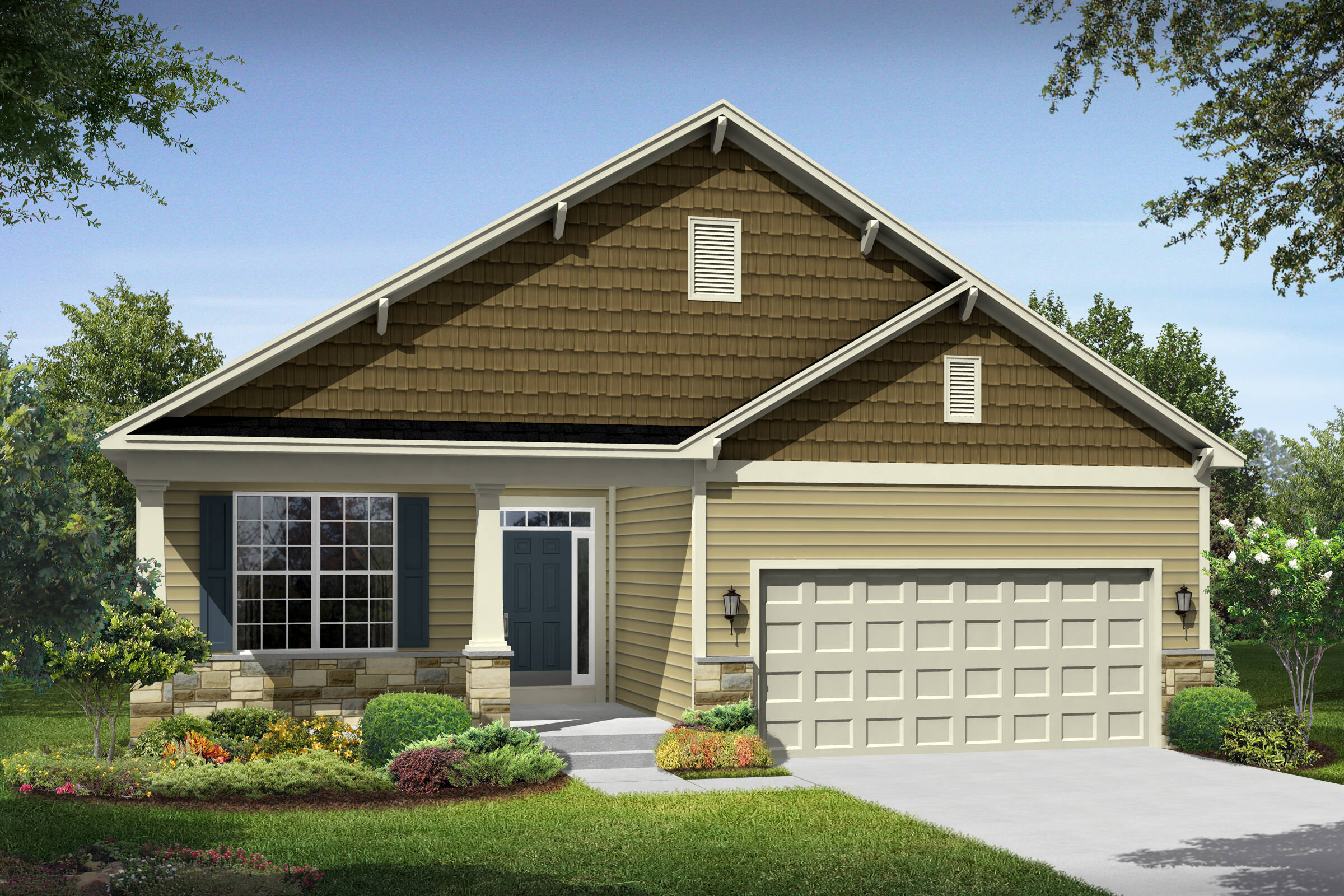 loren bt new homes at leeland station in virginia