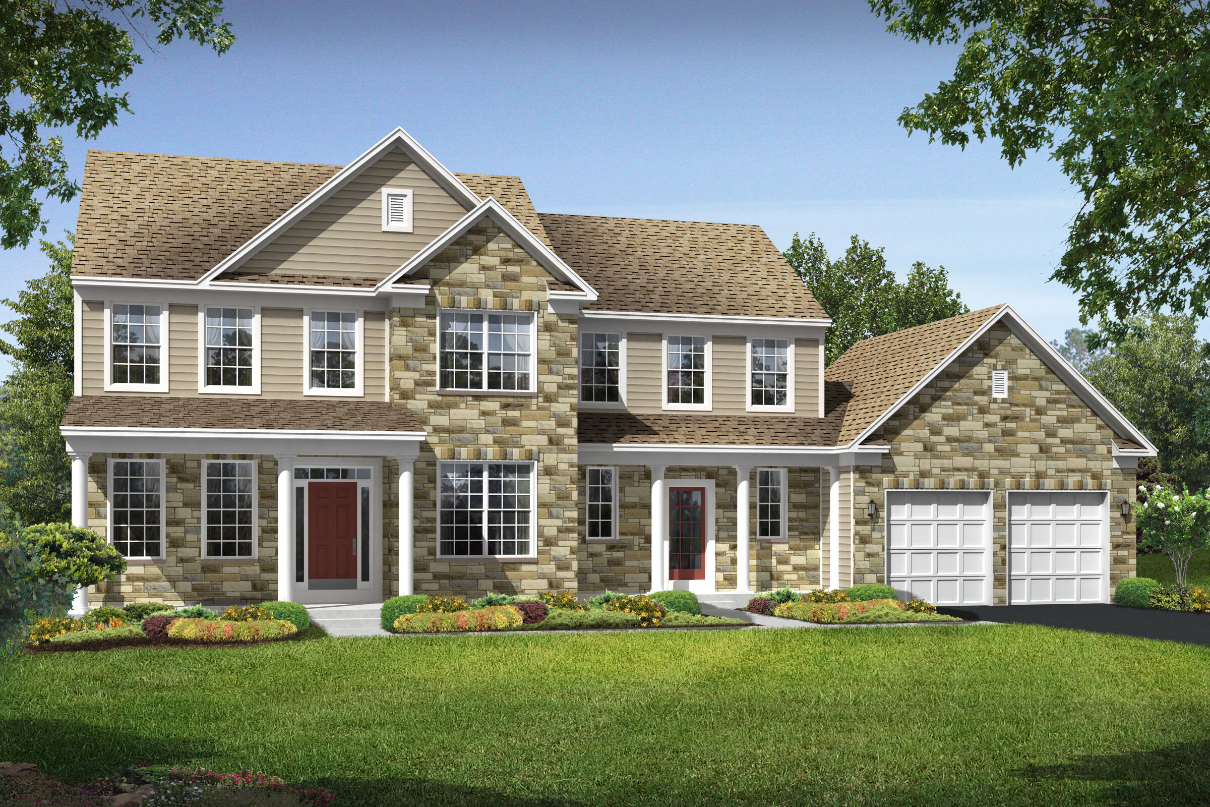 albany cts new homes at reserves at leeland station in virginia