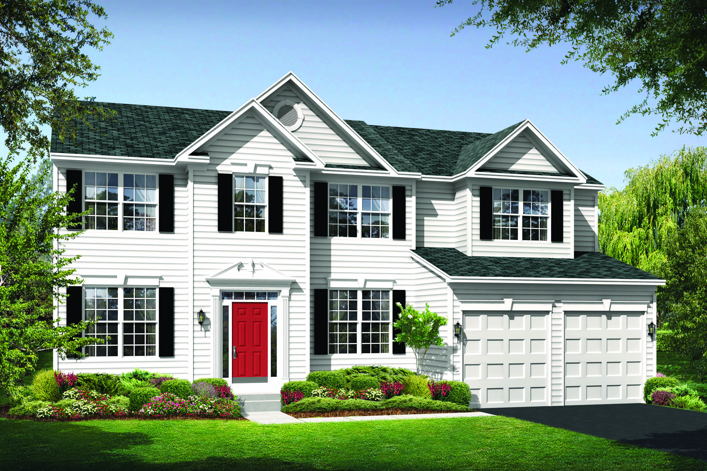 delaware colonial new homes at reserves at leeland station in virginia