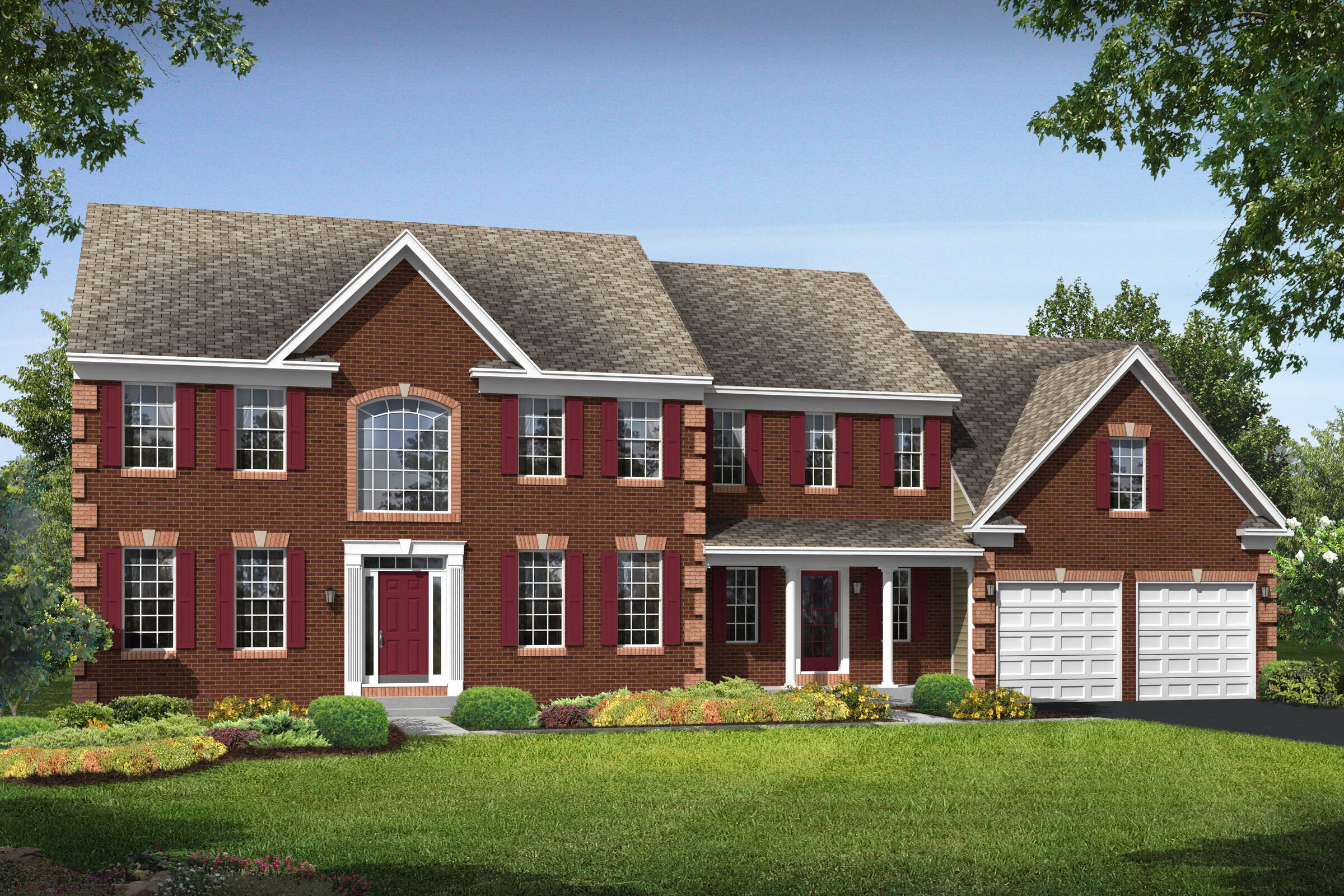 wisconsin traditional new homes at reserves at leeland station in virginia