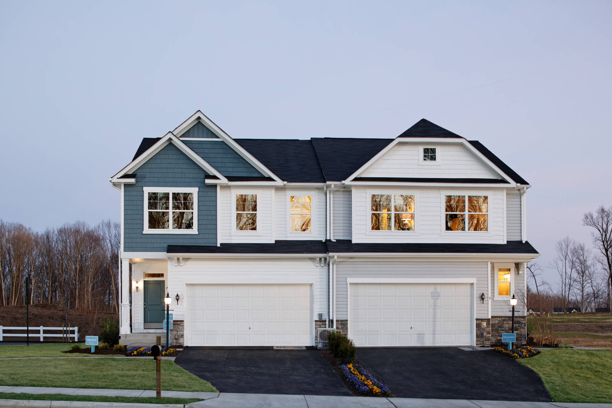 roanoke II shenandoah new homes at villas at wellspring in virginia