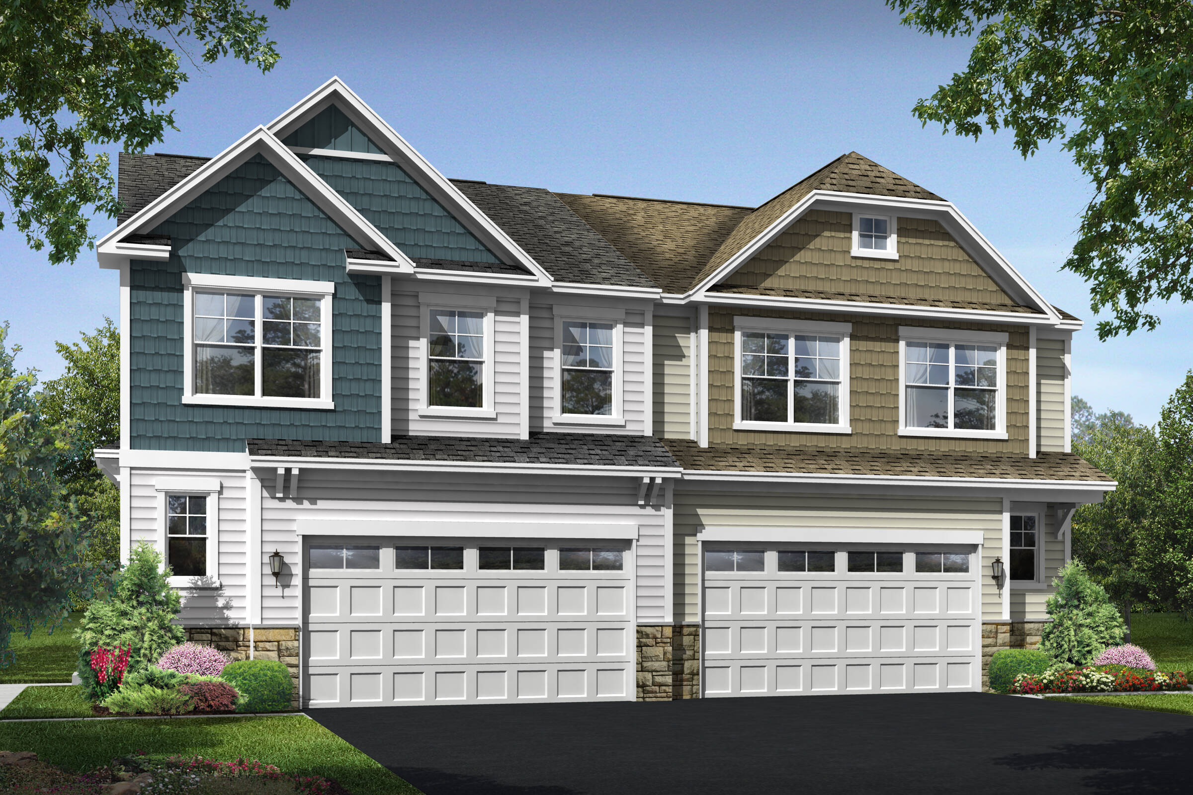 roanoke I b new homes at villas at wellspring in virginia