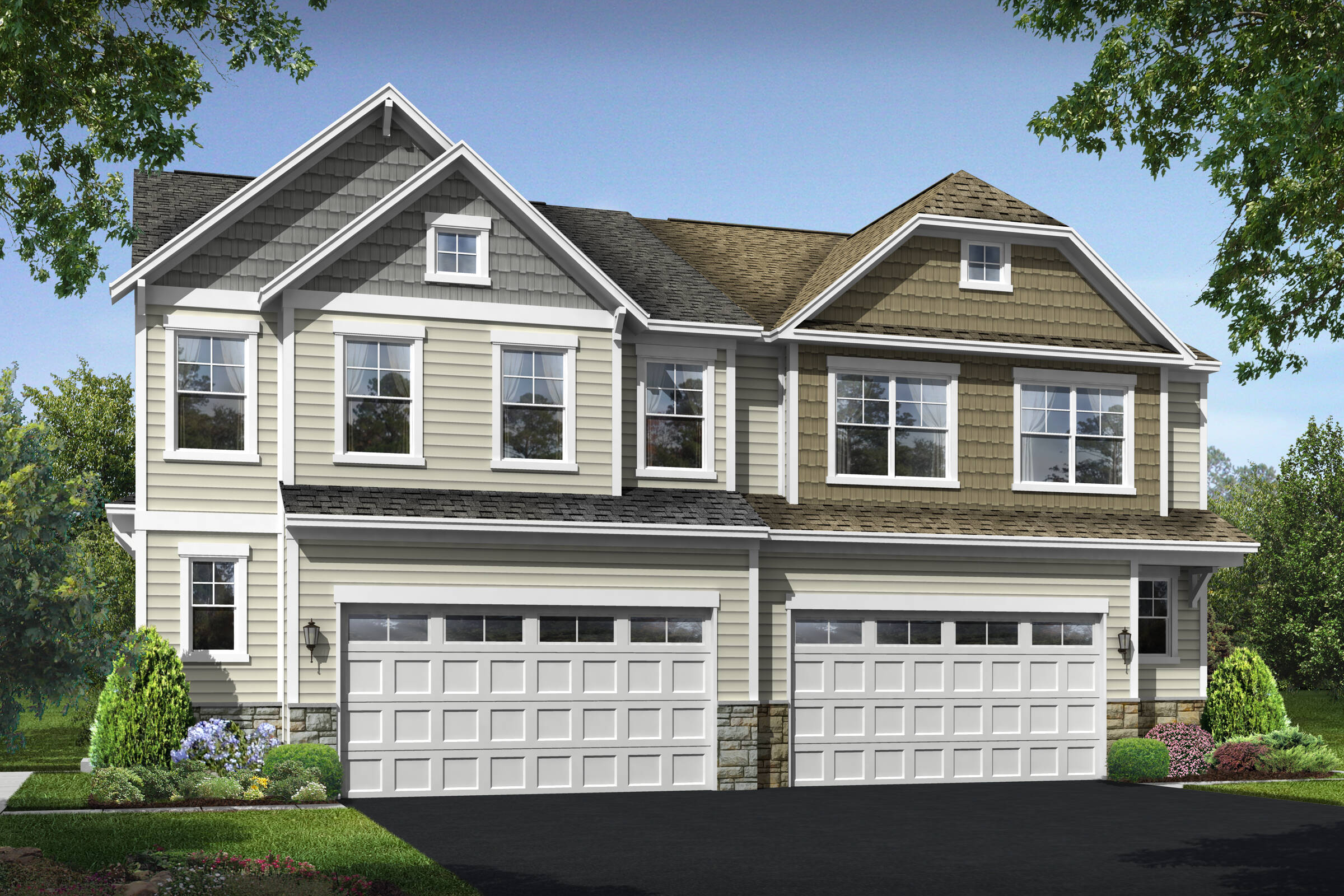 shenandoah a b new homes at villas at wellspring in virginia