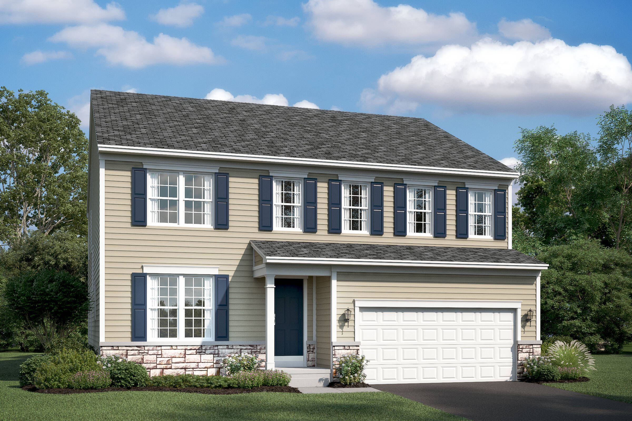lancaster at new homes at shenandoah springs in west virginia
