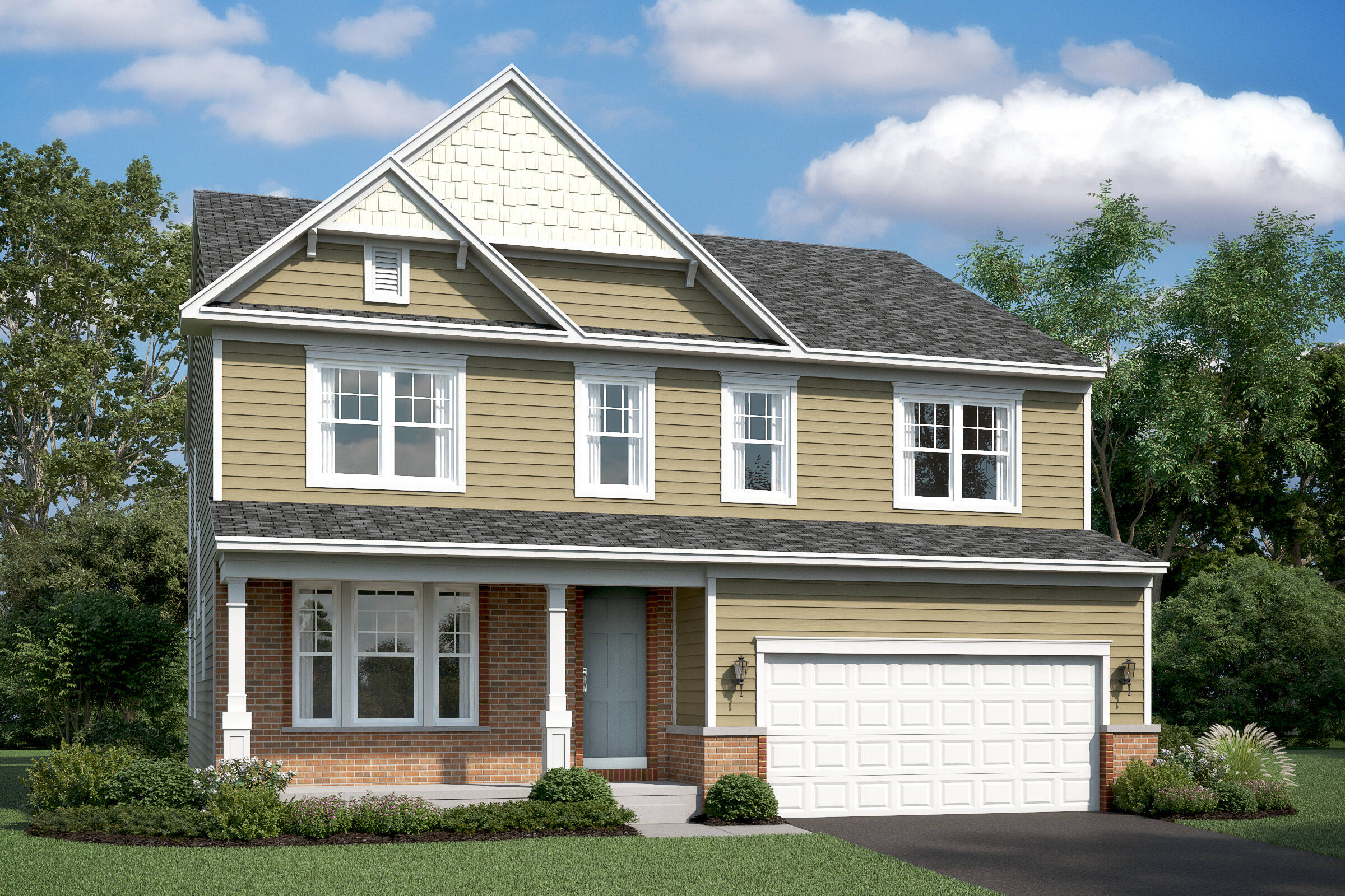 lancaster eb new homes at shenandoah springs in west virginia