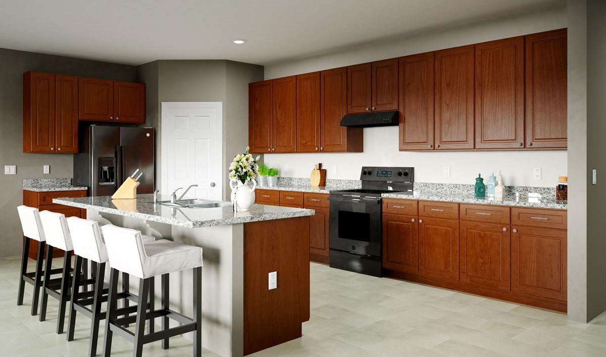 monarch kitchen new homes ascend at villago aspot
