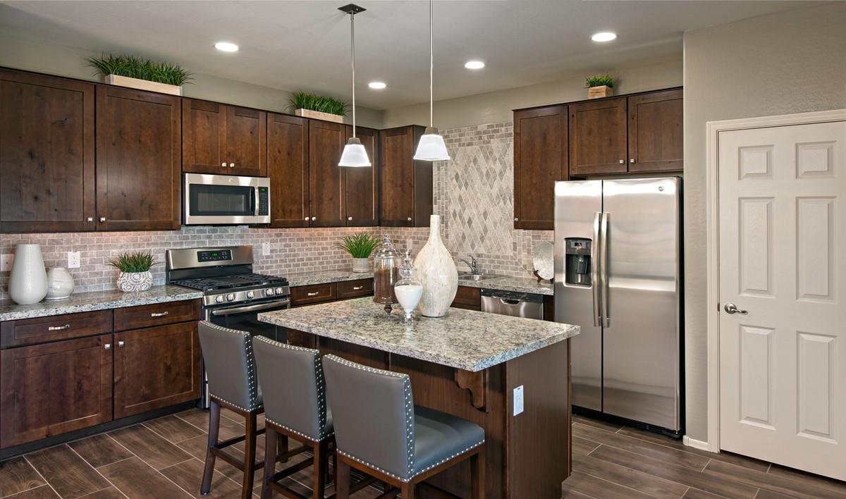 holiday kitchen new homes sienna hills aspot