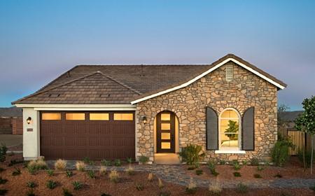 Indigo Exterior Fusion New Homes Peoria Arizona Usp