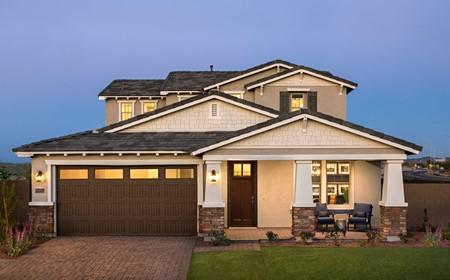 Slate Exterior Fusion New Homes Peoria Arizona Usp