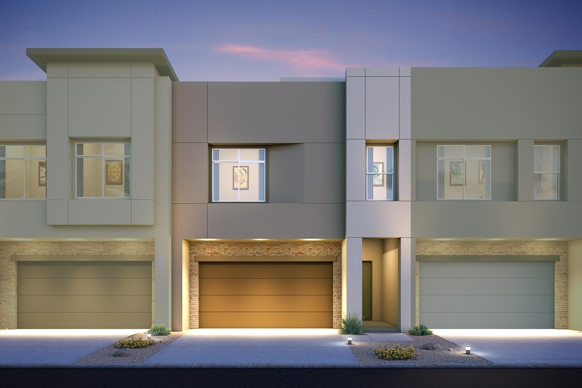 granite interior new homes pinnacle at union park