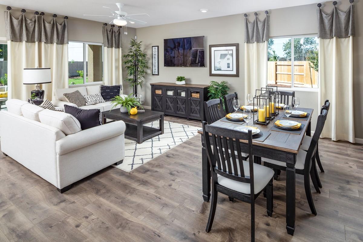 paso fino great room new homes aspire at sunnyside