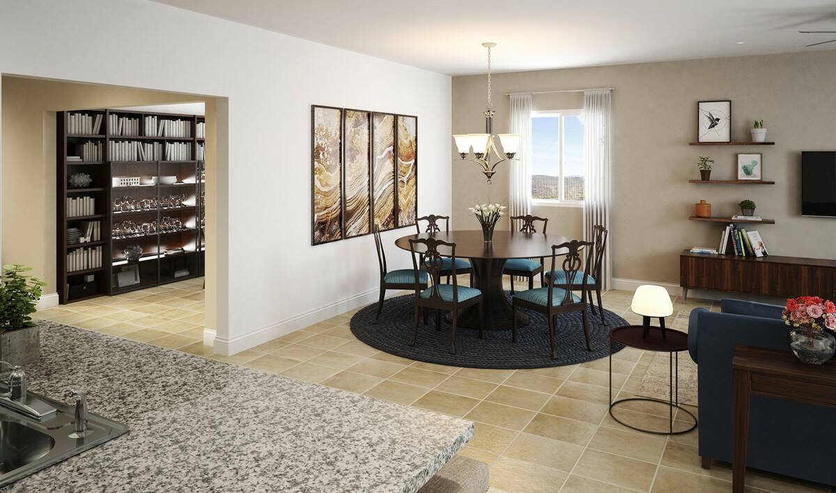 Murieta Gardens - Paso Fino 4090 - Dining Room 02 - 2880x1700