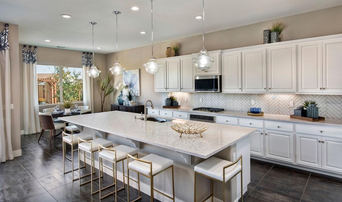 evergreen kitchen new homes parkside at westshore