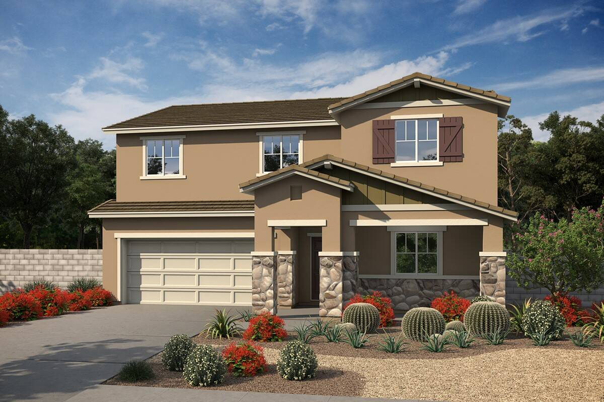 plan 6 kari b craftsman new homes victorville california