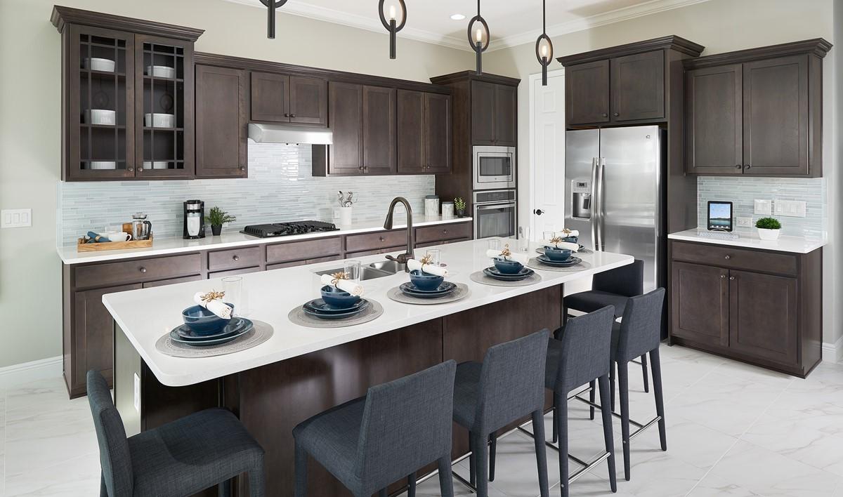 hilltop reserve alvarez kitchen new homes orlando florida