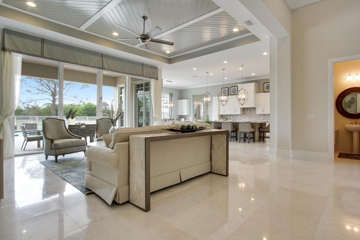 hawthorne foyer great room new homes in jupiter florida