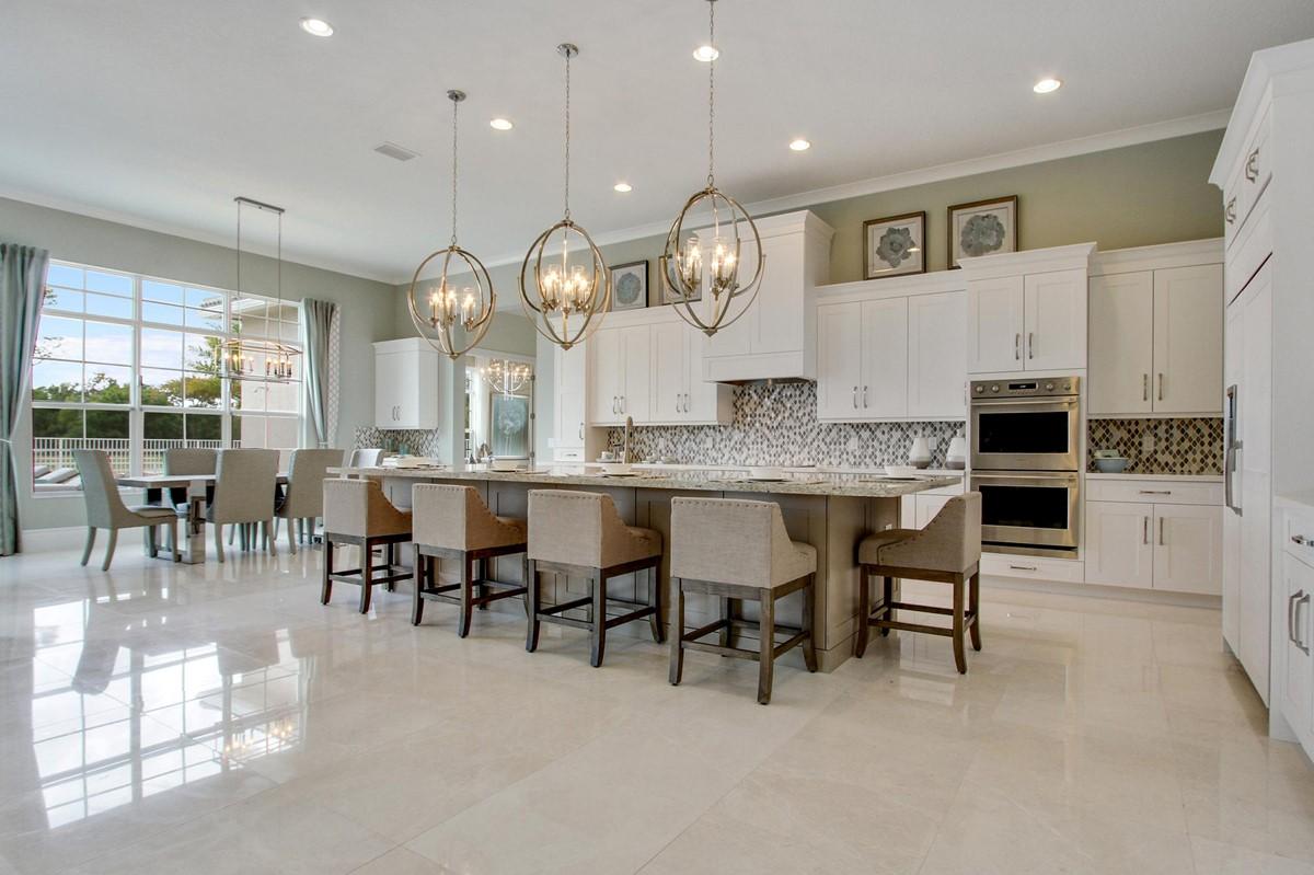 hawthorne kitchen dining area new homes in jupiter florida