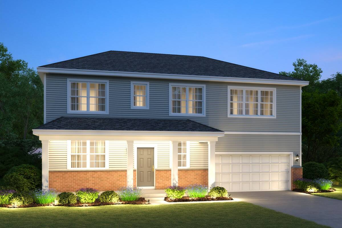 new-homes-sycamore-north-grove-crossing-6005-Jewel Cortland-C-Brick-elev