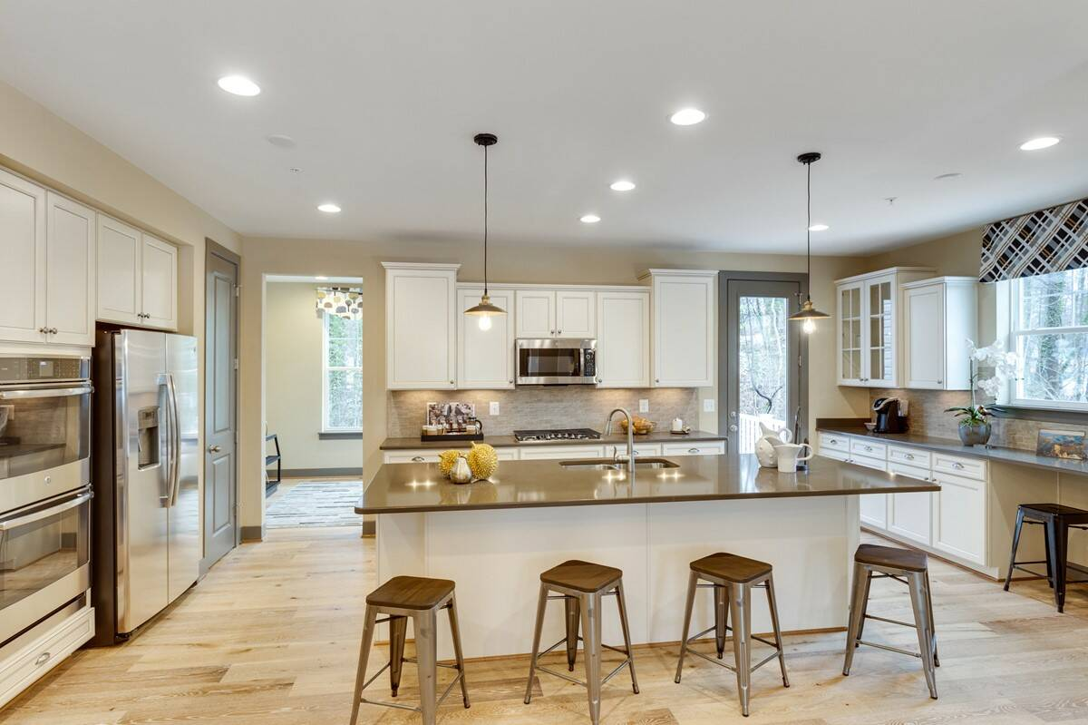 kitchen bennington I new homes at arnold ridge