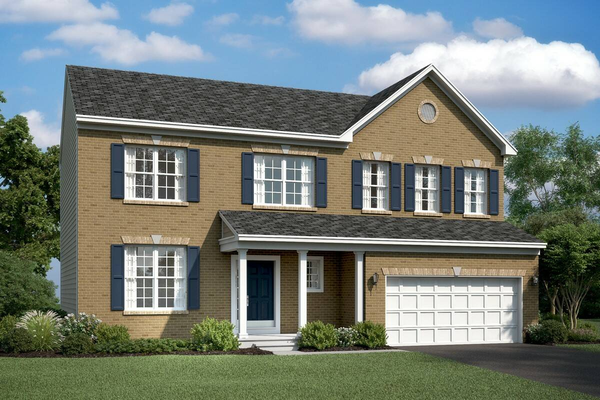 hancock III traditional new homes at stone mill in maryland