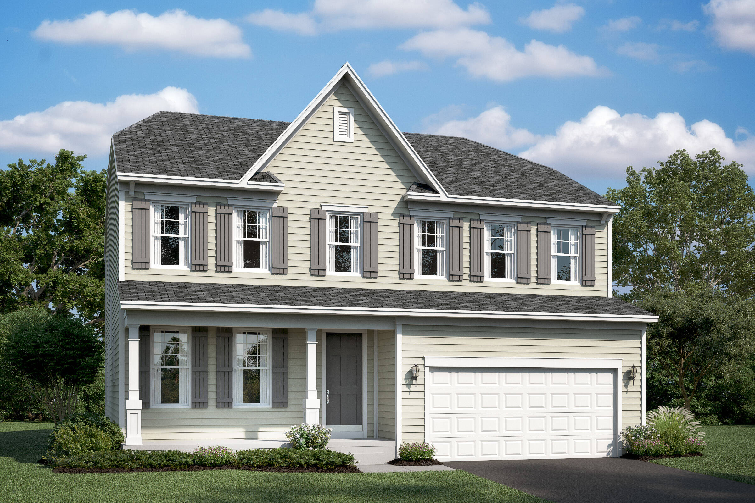 lancaster ds new homes at stone mill in maryland