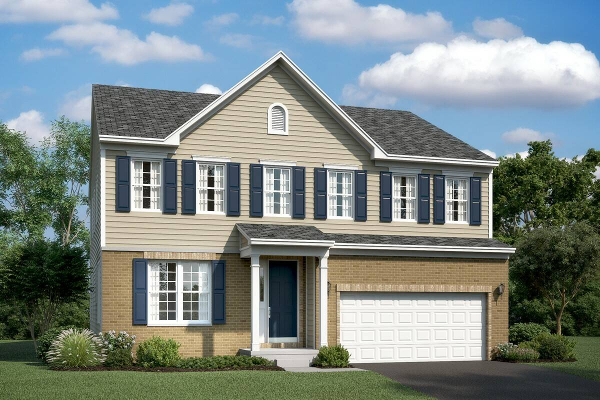 lexington bb new homes at at stone mill in maryland